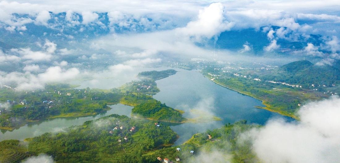 广安天池湖风景区